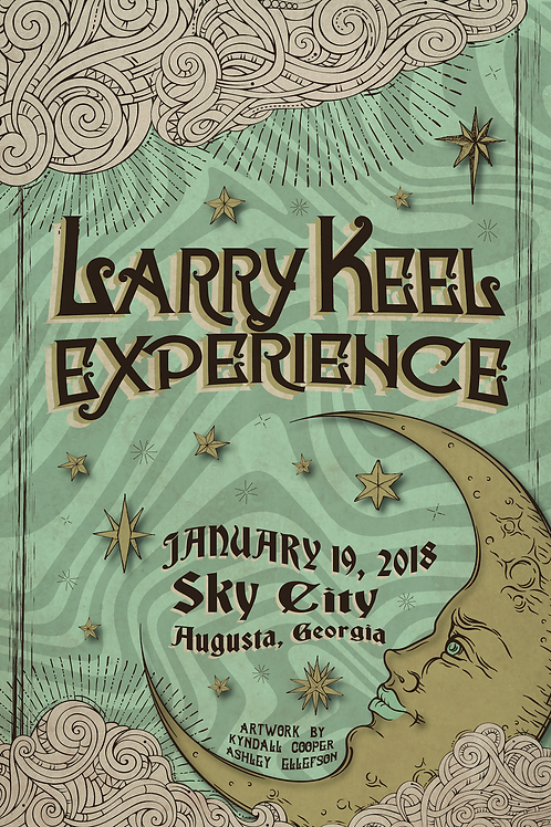 Larry Keel Experience Poster