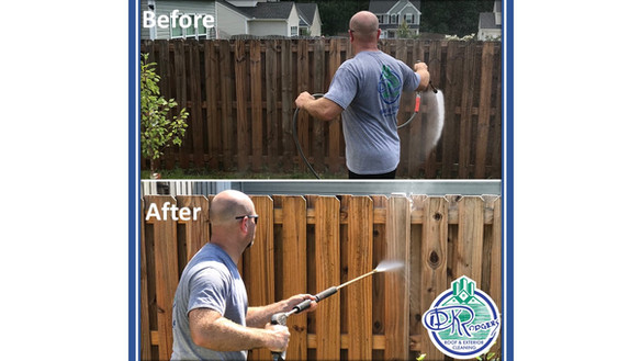 Before & After Residential - Privacy Fen