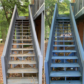 Before & After Wood Porch Stairs.JPG
