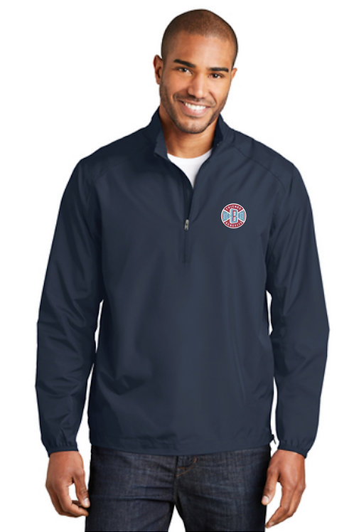 FWBpro Men's Half-Zip Wind Breaker