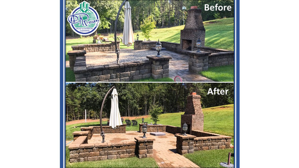 Before & After - Residential Outside Liv