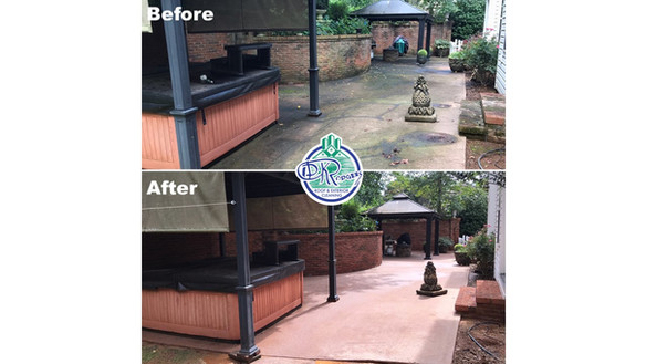 Before & After Commercial - Exterior Cle