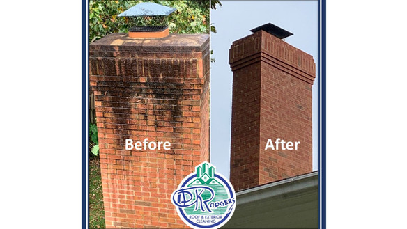 Before & After Residential - Chimeny Cle