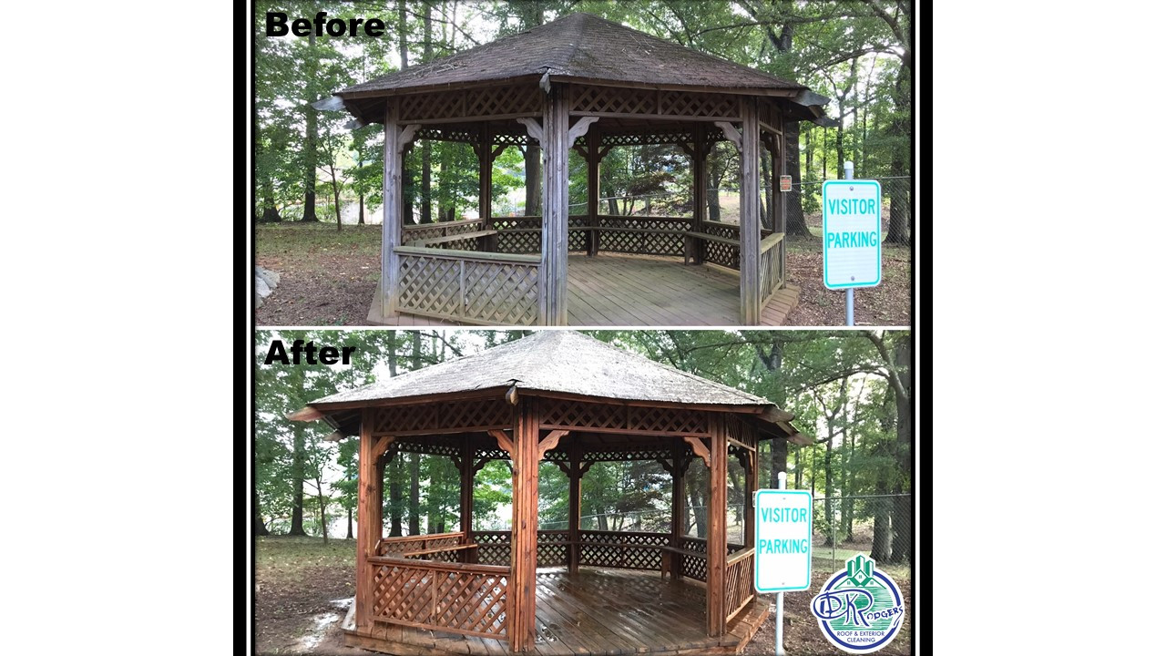 Before & After Commercial - Gazebo Clean