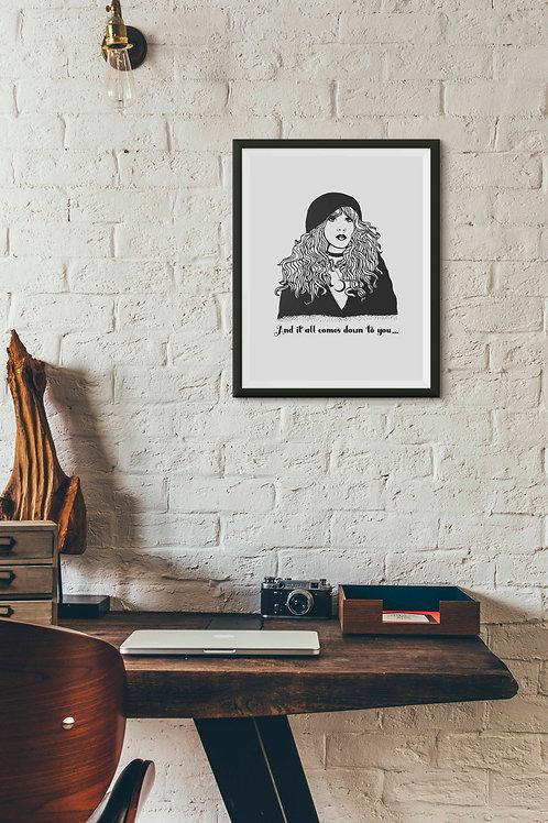Gypsy Stevie Print