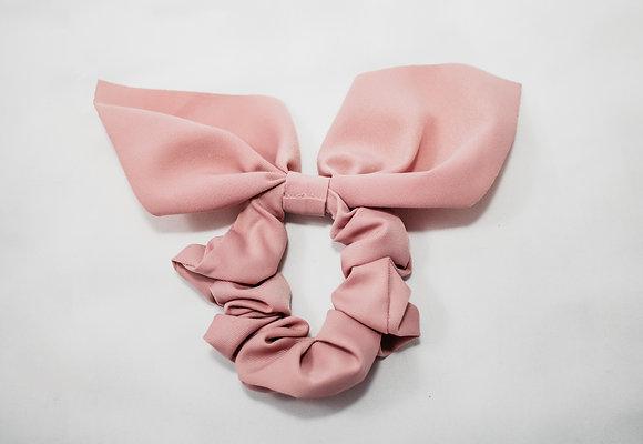 Dusty Pink Scrunchie Tail