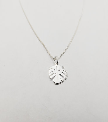 Flat Delicious Monster Leaf Pendant