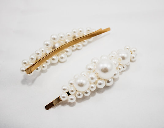 Give Me Pearls Hair Clip