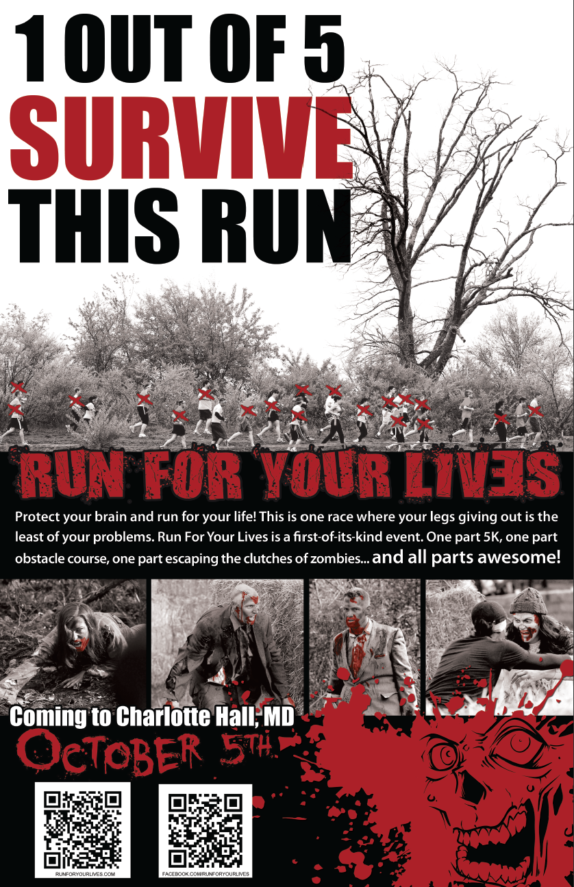 Run For Your Lives Poster