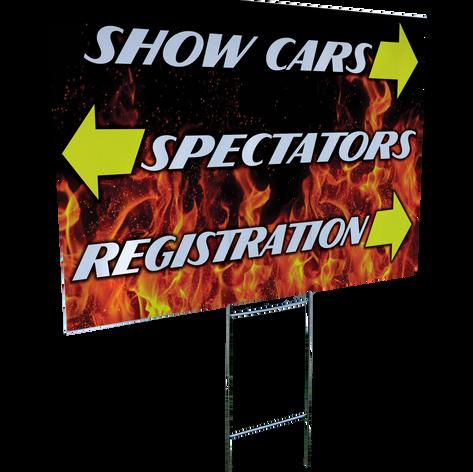 Car Show Sign