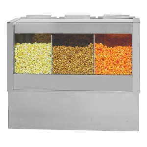 2445-Front Warmer with Three Compartments