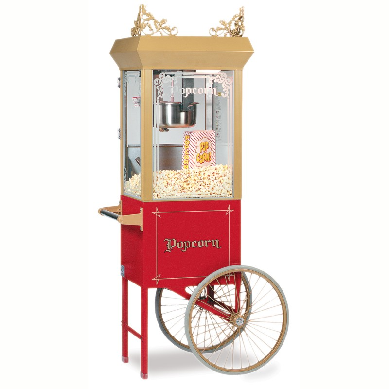 #2660GT _ 6oz Antique Popcorn Machine