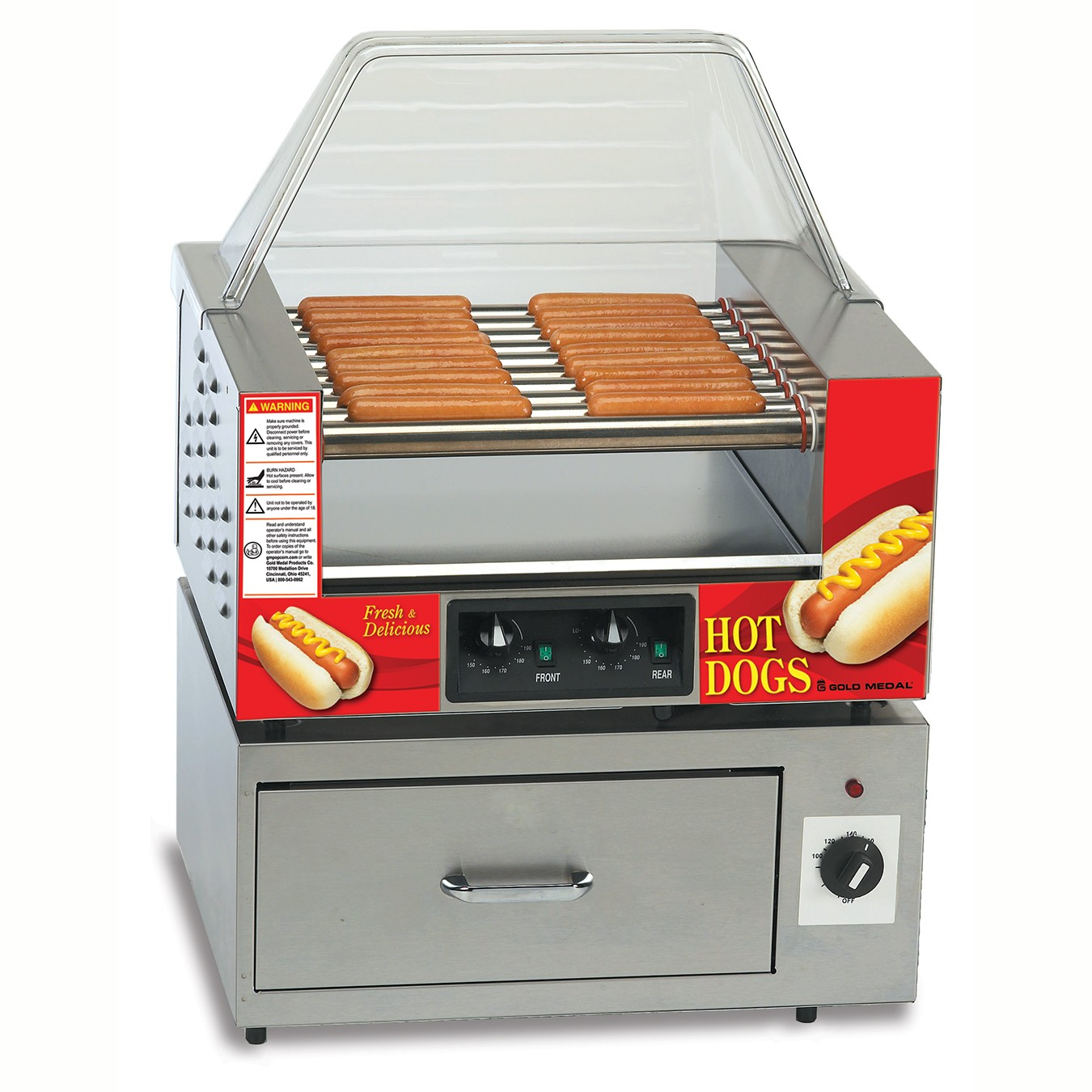 8024 - Hot Dog Grill