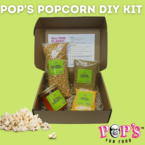 Pop's Popcorn DIY Kit