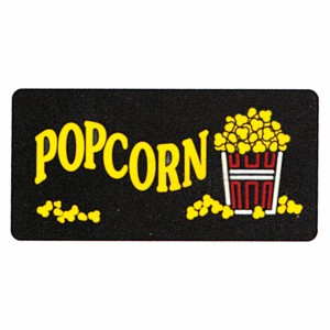 2984 - Popcorn Backlit Sign