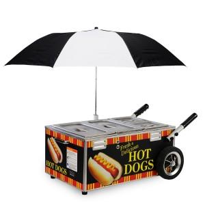 8080NS - Hot Dog on Cart 300 X 300