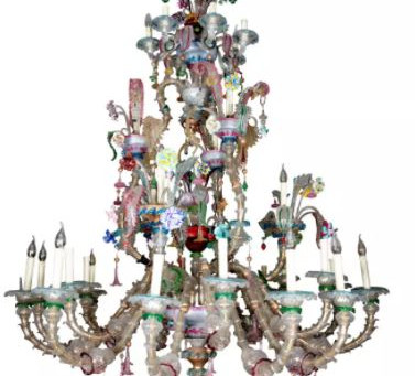 Add Some Sparkle To Your Home With A Murano Chandelier.