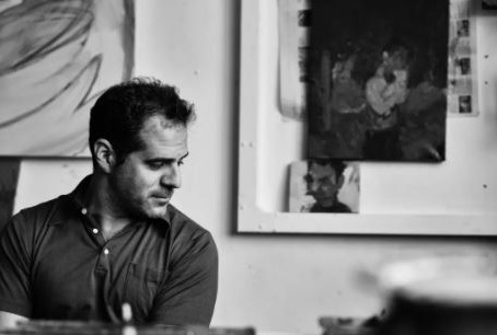Painter Michael Ajerman, in conversation with Laura Harris.