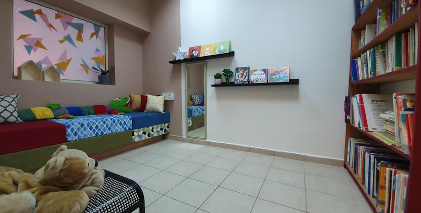 החדר השקט - לקריאה ומנוחה