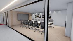 חדר ישיבות מעוצב
