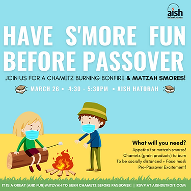 Have S'More Fun Before Passover