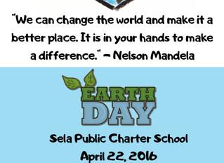 Earth Day at Sela