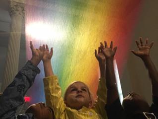 "Sela Visits ""Wonder"" at the Renwick Gallery"