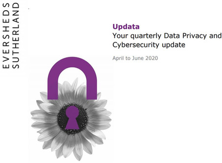 Data Privacy and Cybersecurity Newsletter (June 2020)