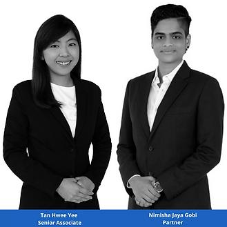 (left) Tan Hwee Yee, (right) Nimisha Jay