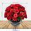 Thumbnail: Esfera con 50 Rosas y Claveles