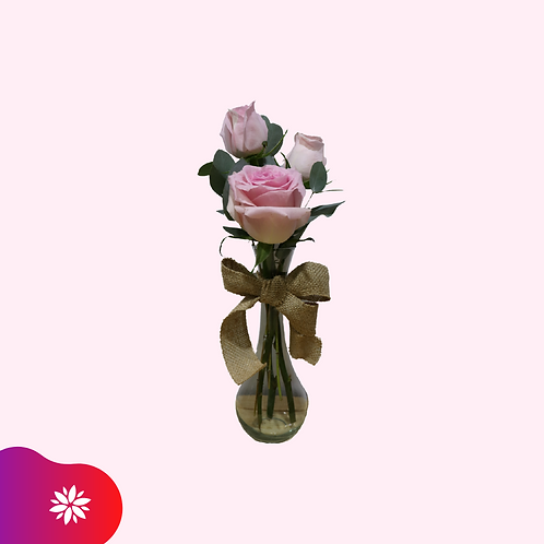 Detalle con 3 Rosas