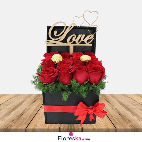 16 Rosas +Ferrero