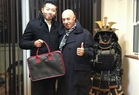 CEO and Mr Giacomo
