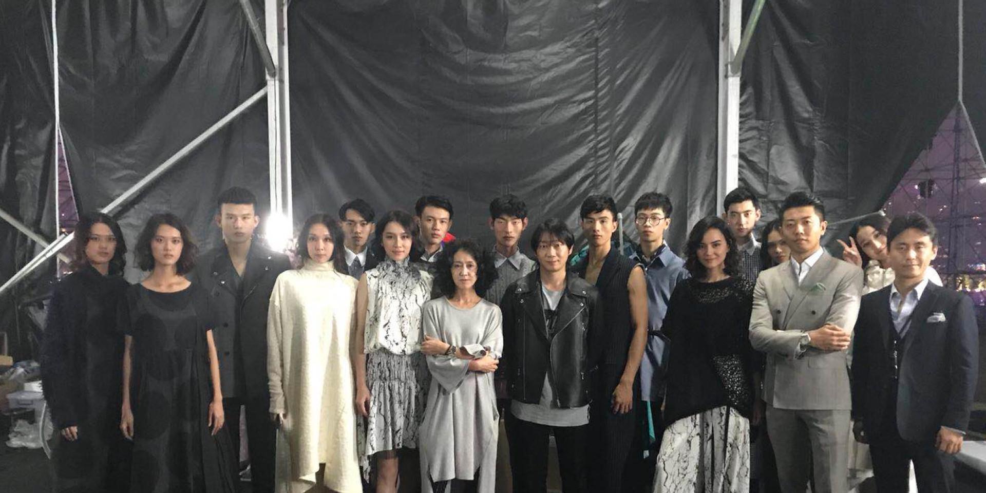 Guangzhou fashion week crew