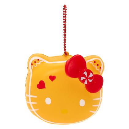 Llavero Hello Kitty amarillo