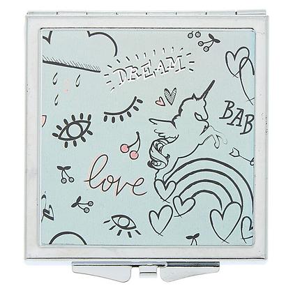 Espejo compacto LOVE