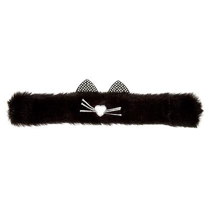 Pulsera Gato Peludo Negro