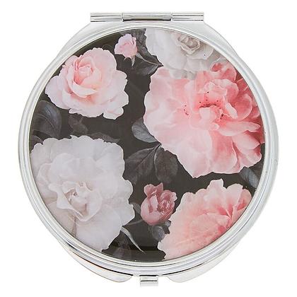 Espejo Compacto Floral