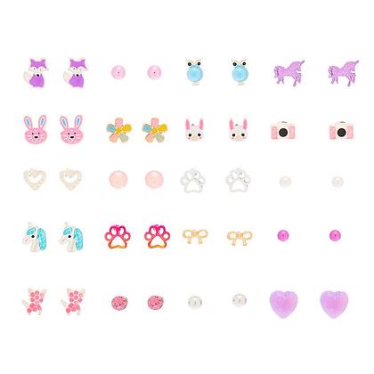 Kit Aretes x 20 Animals