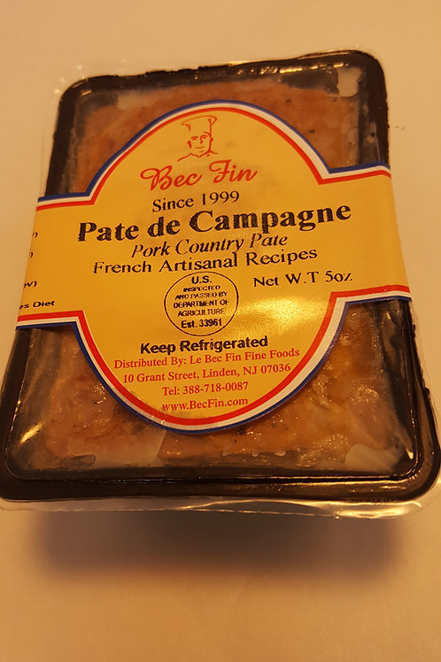 Coarse country pâté  5 oz