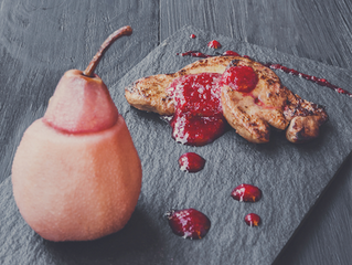 Seared Duck Foie Gras  Recipe