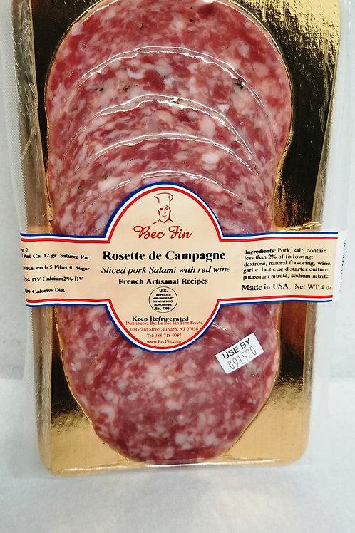 Rosette de Lyon French recipe done in the USA