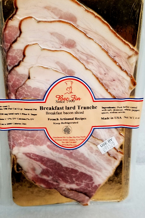 Breakfask Bacon sliced 4 oz pack