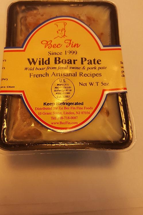 Wild boar pâté with hazelnuts 5 oz