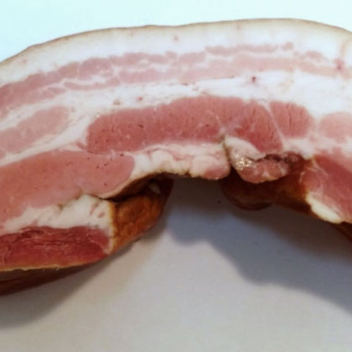 Lard Fume /French slab bacon 16 Oz