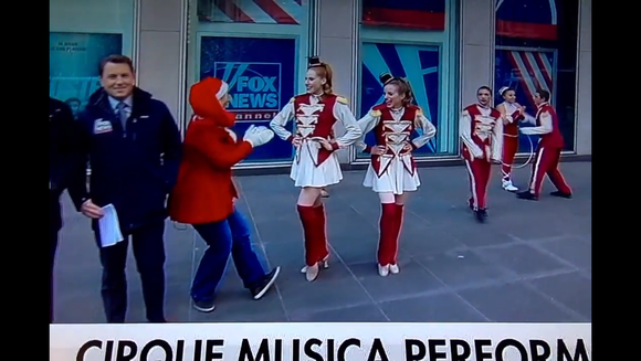 Cirque Musica on FOX and Friends