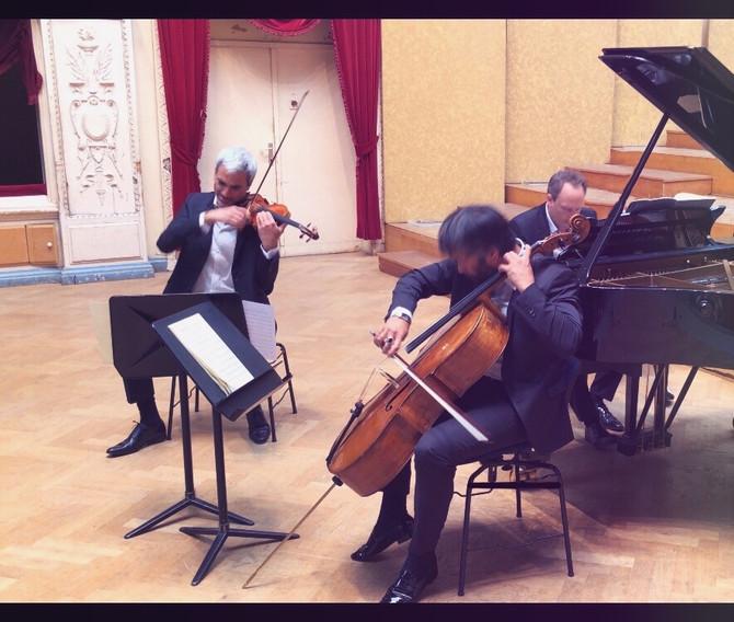 Trio Talweg Live in Brussels