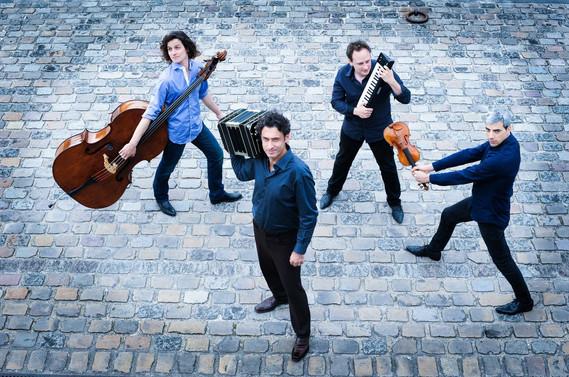 Mosalini-Teruggi Cuarteto Crédit: Astrid Di Crollalanza