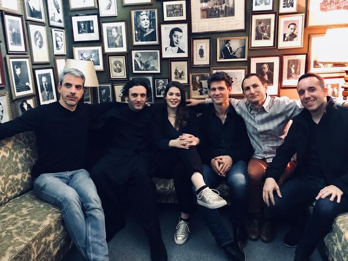Night Bridge tour With Quatuor Ébène, Antoine Tamestit, Nicolas Altstaedt