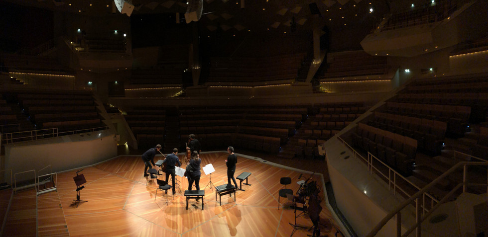 Berlin Philharmonie With Quatuor Ébène, Antoine Tamestit, Nicolas Altstaedt